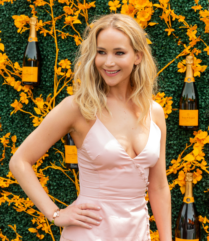 Jennifer Lawrence Attends 12th Annual Veuve Clicquot Polo ...